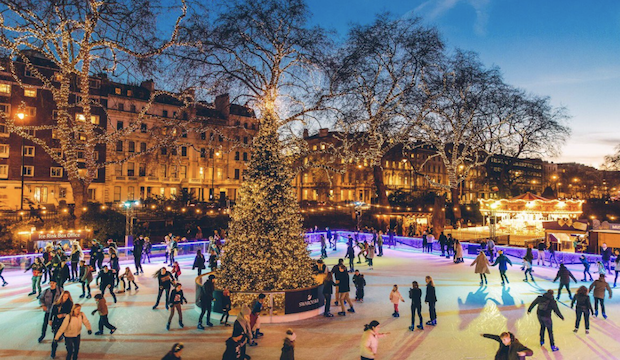 Christmas Ice Skating London.Where To Go Ice Skating London Rinks To Glide On This