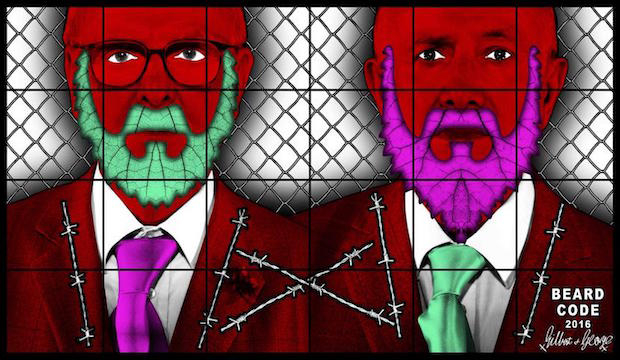 Gilbert & George, THE BEARD PICTURES, 2016