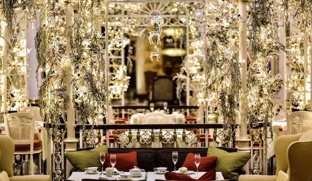 Scents of Christmas at the Savoy