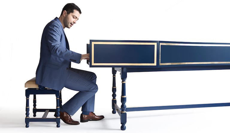 Mahan Esfahani excites audiences wherever he goes