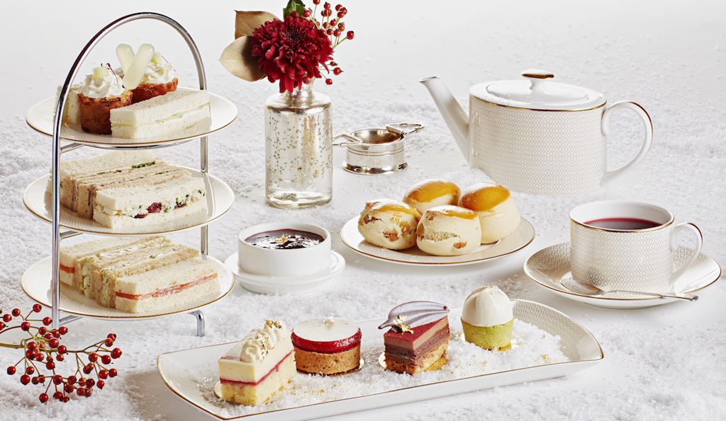 Diptyque Festive Afternoon Tea at Hotel Cafe Royal