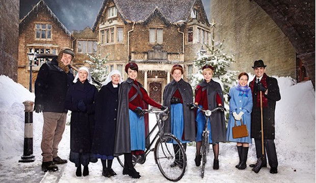 Call the Midwife Christmas special, BBC One