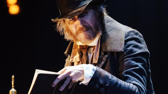 Rhys Ifans: A Christmas Carol, Old Vic Theatre London.