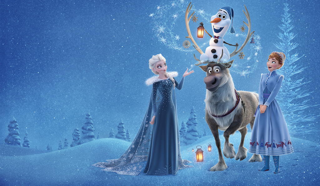 Olaf's Frozen Adventure, Sky Cinema