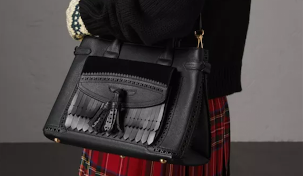 Practical and stylish: a Burberry bag