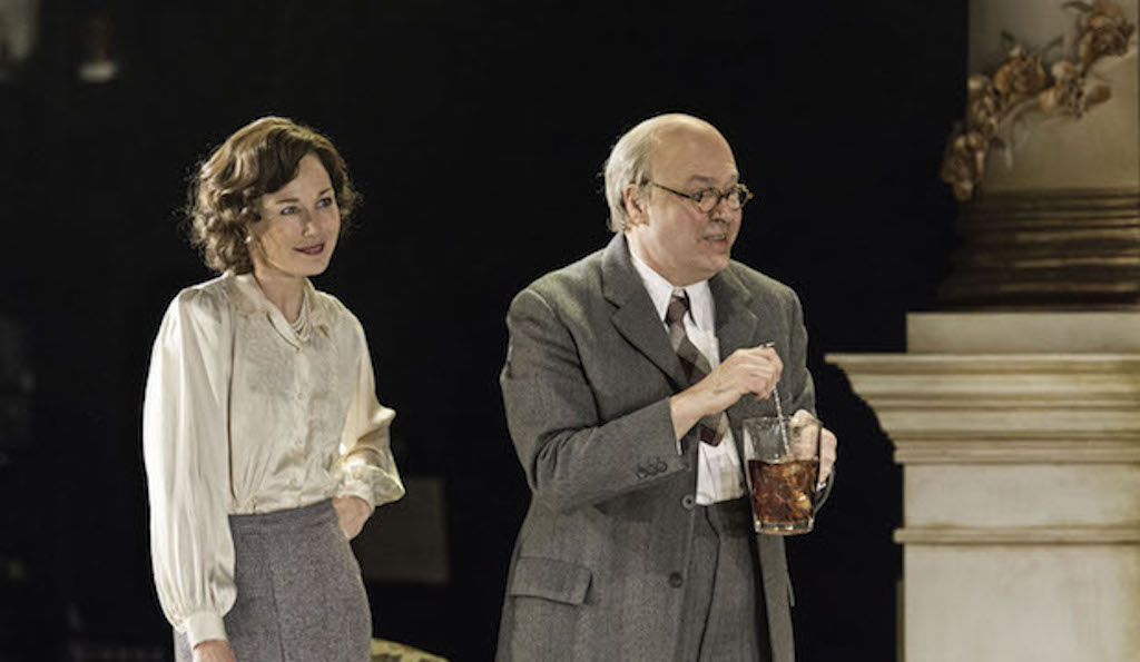 Roger Allam and Nancy Carroll as John Christie and Audrey Mildmay, The Moderate Soprano. Photo credit: Manuel Harlan