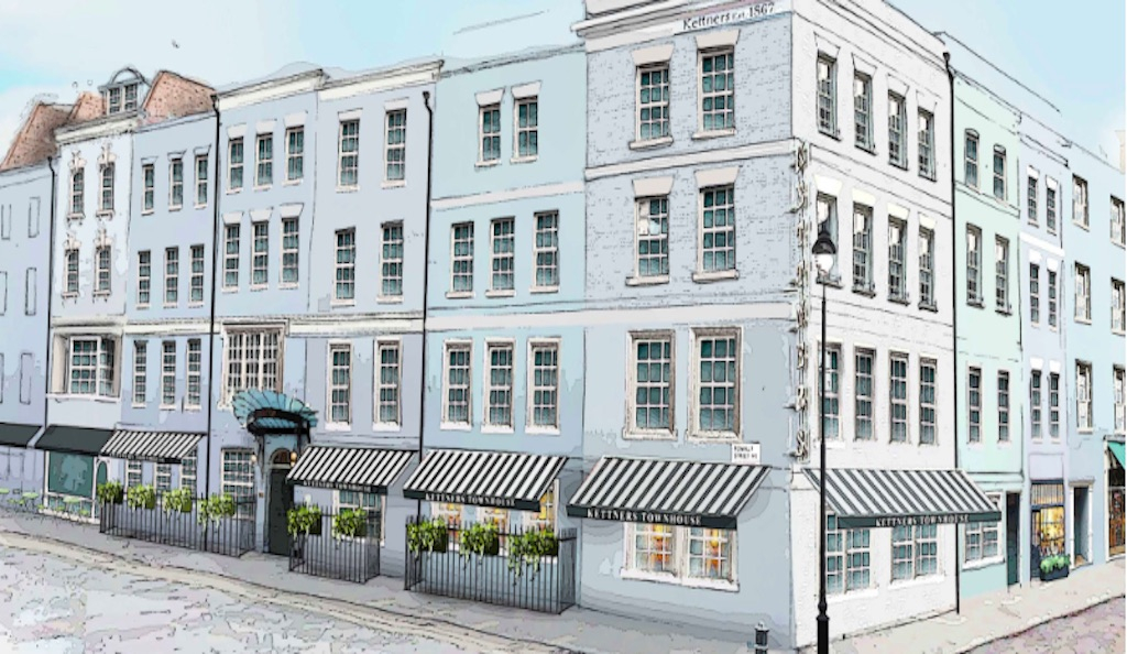 Kettner's Townhouse, Soho, London