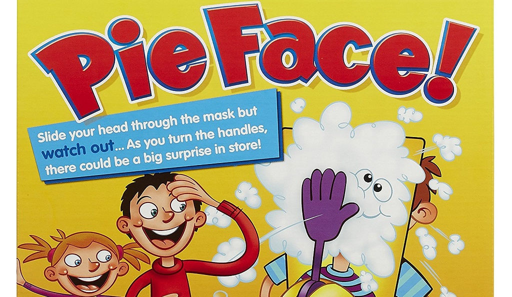 For silly fun: Pie Face