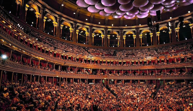 Most Proms take place in the Royal Albert Hall. Photo: Chris Christodoulou