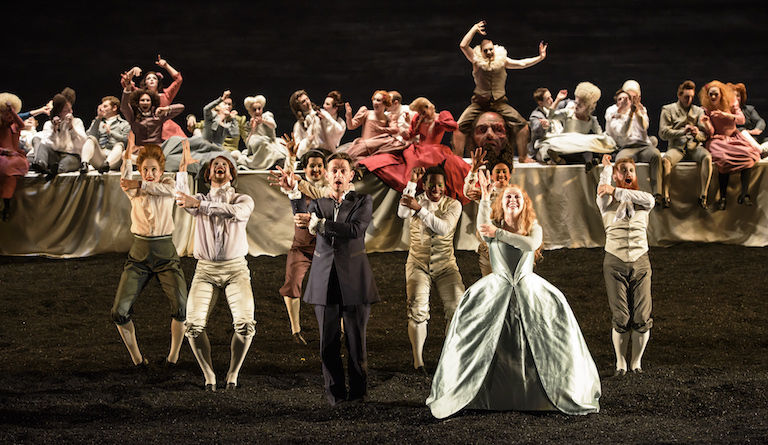Handel's Saul at Glyndebourne is a joyous riot of sound and colour. Photo: Bill Cooper