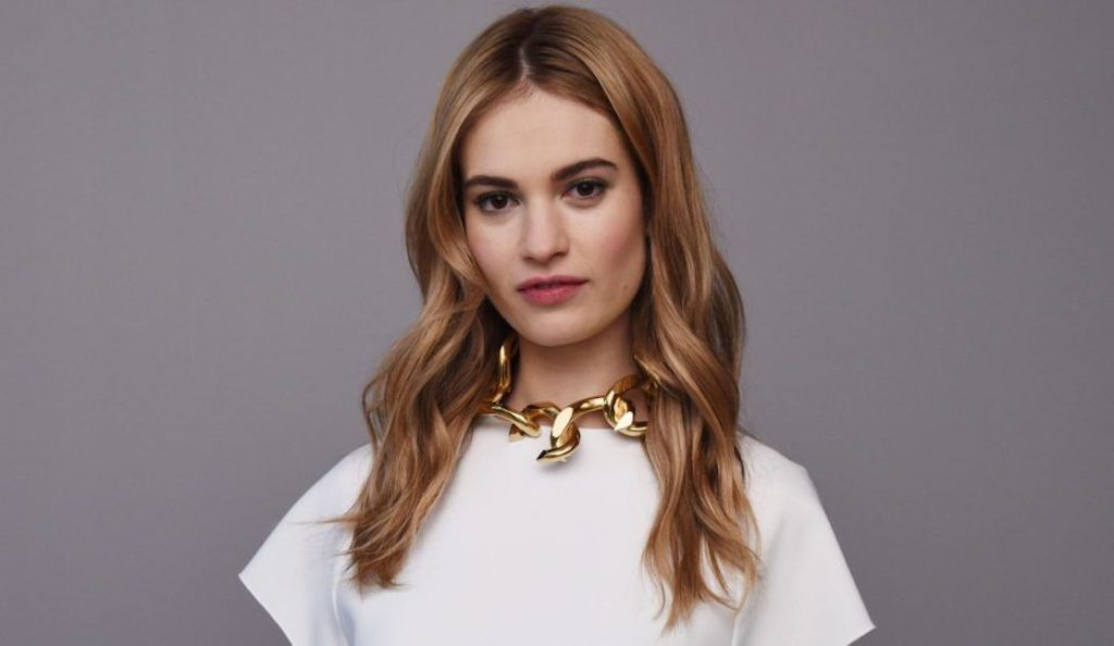 Lily James interview: Darkest Hour