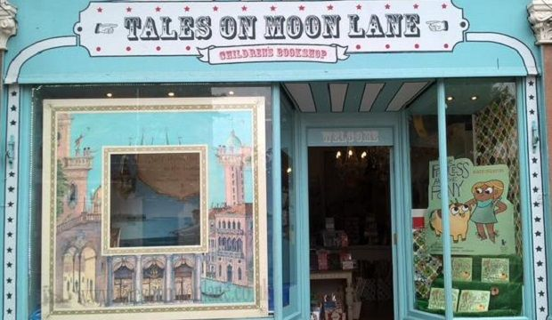 If you love independent book shops: Moon Lane Books