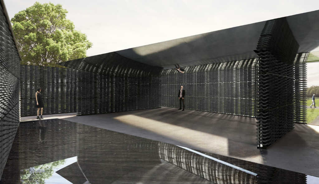 Serpentine Pavilion 2018 designed by Frida Escobedo