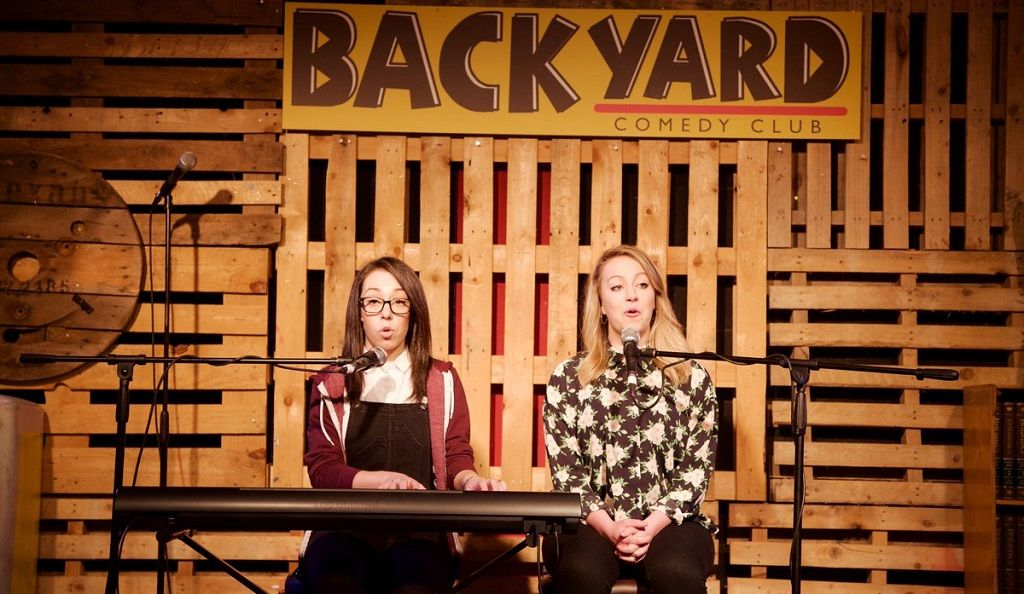 In the back of beyond: Backyard Comedy Club