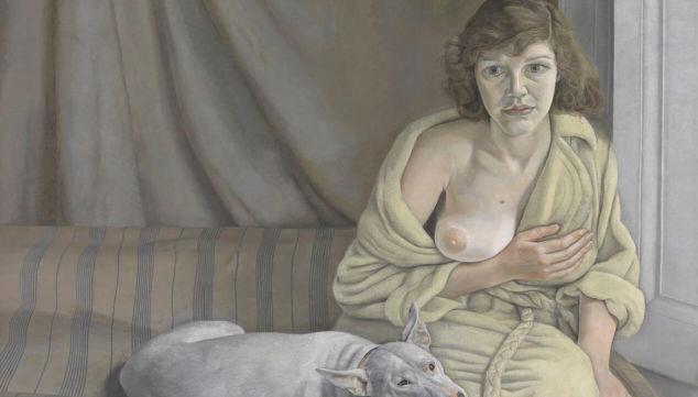 Lucian Freud, Girl With Dog (1950-1). Tate. © Tate