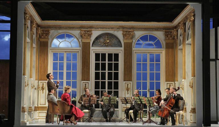 Strauss's opera Capriccio includes a string sextet, played on stage
