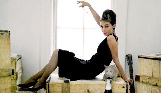 Elegant simplicity: Audrey Hepburn's LBD in Breakfast at Tiffany's