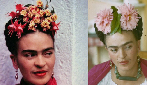 Frida Kahlo's Flower Crowns