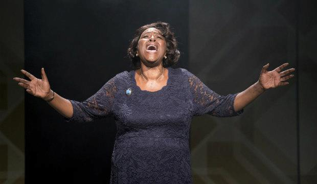 Sharon D Clarke in Caroline, Or Change, Hampstead Theatre