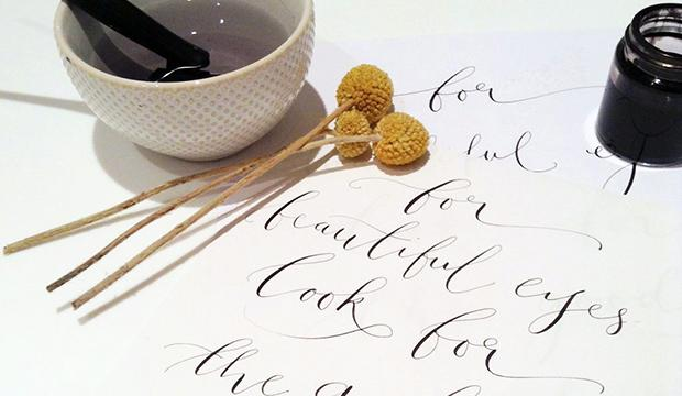 Modern Calligraphy – Quill London