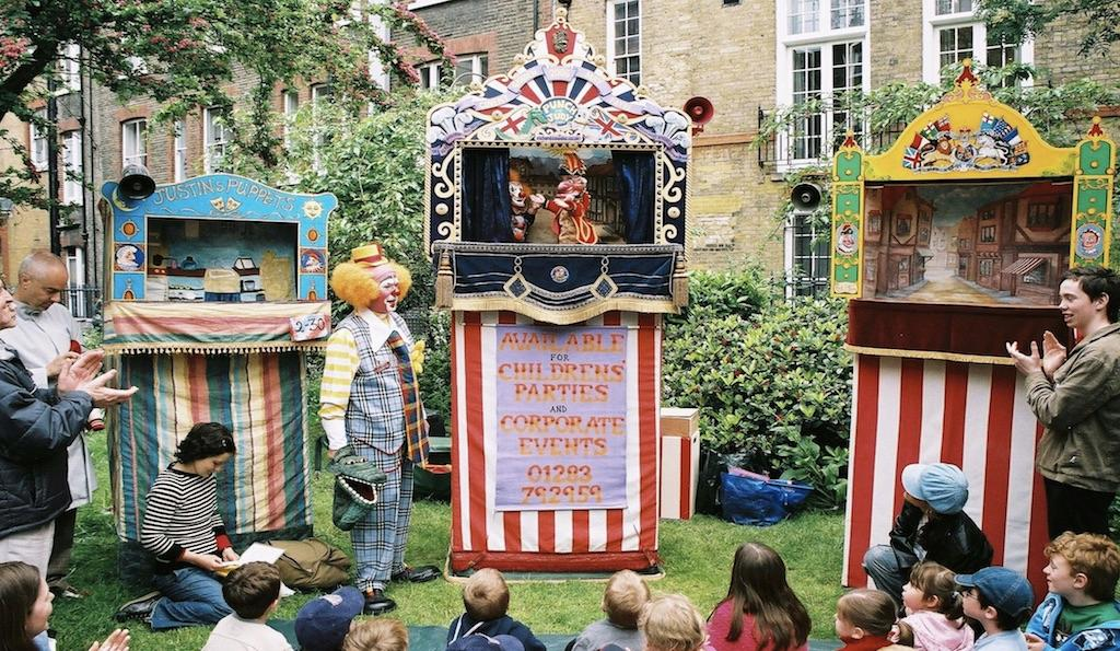 Covent Garden May Fayre and Puppet Festival, St Paul's Church Garden