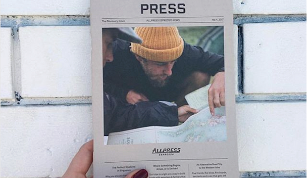 The hipster one: Allpress Espresso Bar, Shoreditch