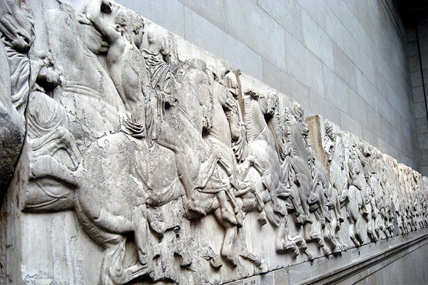 elgin marbles moved for first time in over 50 years culture whisper