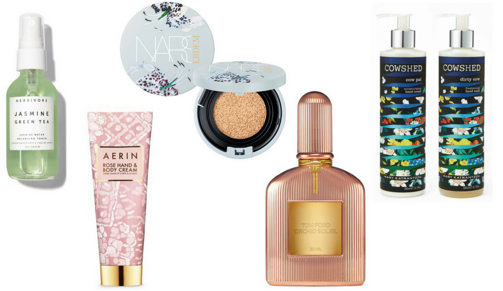 Floral Beauty Products 2018