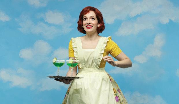 Katherine Parkinson: Home, I'm Darling, National Theatre 2018