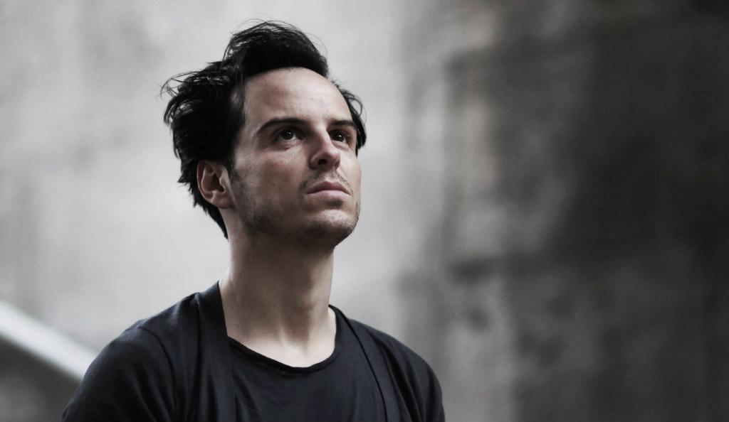Old Vic Theatre, Sea Wall: Andrew Scott. Photo by Kevin Cummins