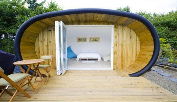 Best for simple comforts: Atlantic Surf Pods, Cornwall