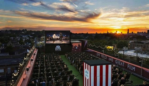 Sink into your seat at an open-air cinema