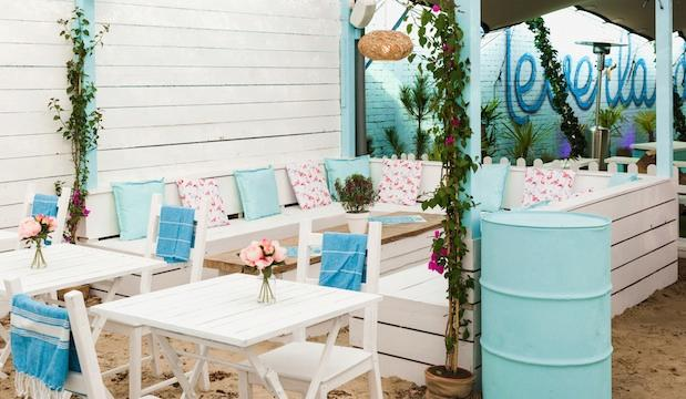 The tropical one: Fulham Beach Club