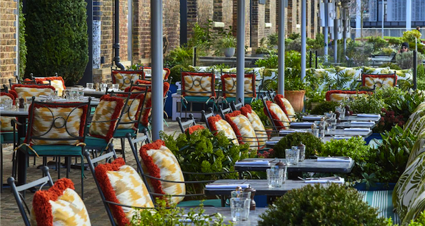 The botanical one: Granary Square Brasserie's Physic Garden