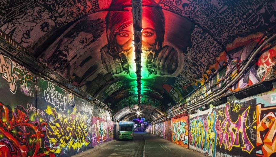 Top 10 places to see street art in London now