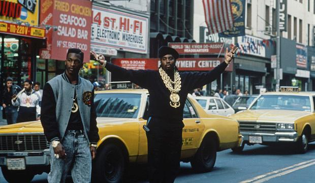 Eric B and Rakim, 14th Street in New York City, circa 1989. Photo: Michael Ochs Archives/Getty Images