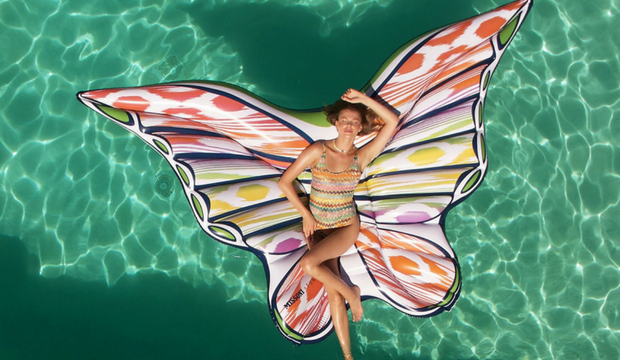 Missoni x Funboy Butterfly Pool Float