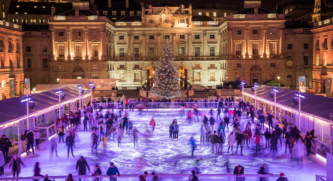 Skate at Somerset House with Fortnum & Mason © David Jensen