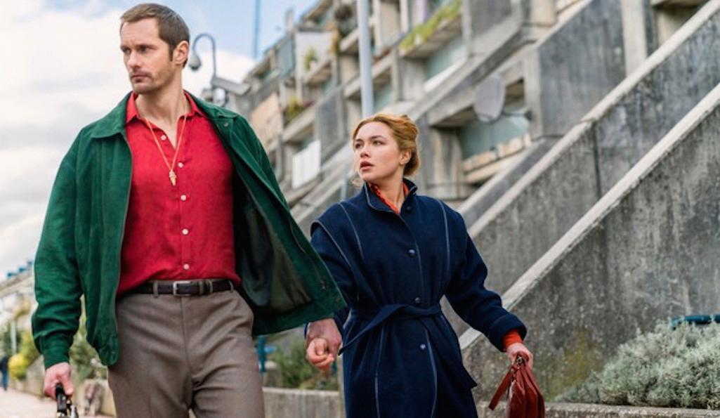 Florence Pugh and Alexander Skarsgård star in The Little Drummer Girl