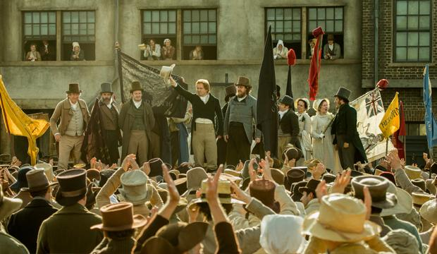 Mike Leigh's Peterloo is set for a UK premiere in Manchester