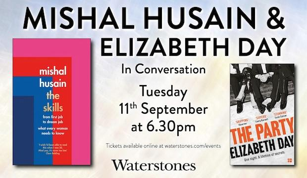 Mishal Husain and Elizabeth Day in conversation, Waterstones Piccadilly