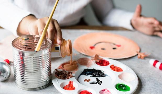 For self-expression: Kids' art and wellbeing club