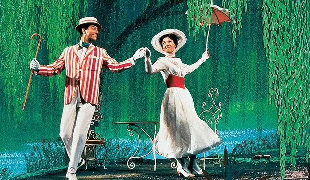 Still from film of Mary Poppins: West End show returns to Prince Edward Theatre