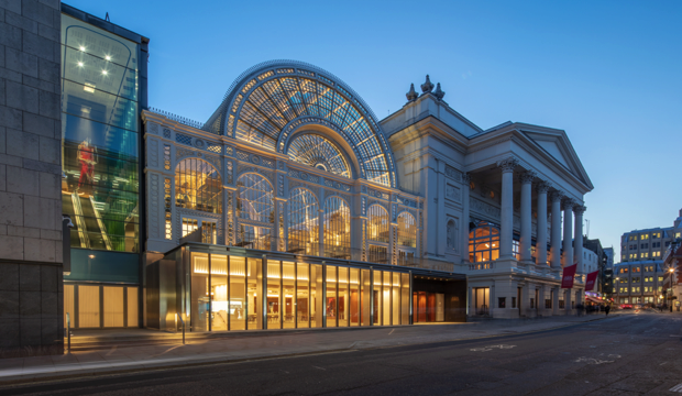 Royal Opera House Exterior (c) ROH photo Luke Hayes