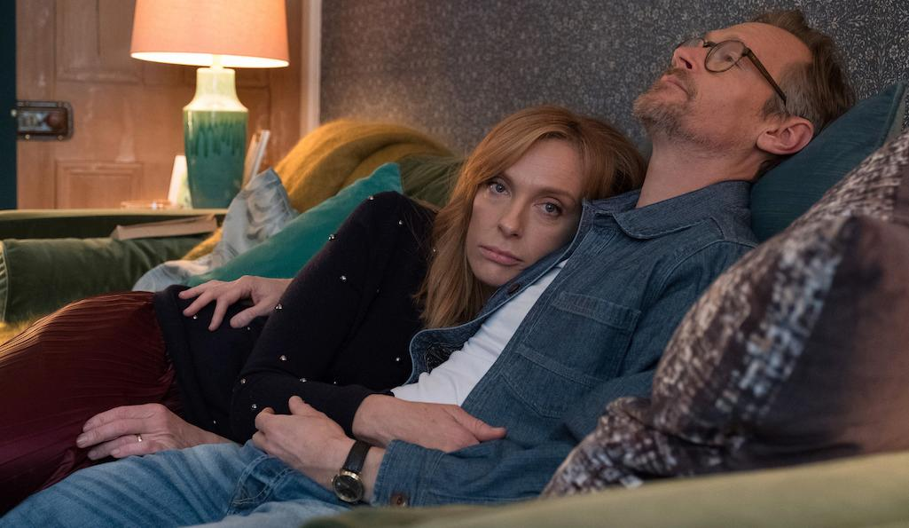 Toni Collette and Steven Mackintosh in Wanderlust
