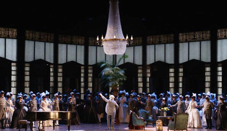 Mystery and ambition are at the heart of Tchaikovsky's opera 'The Queen of Spades'. Photo: ROH