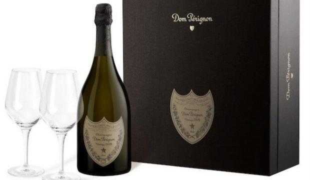 Celebrate in style: DOM PÉRIGNON VINTAGE 2009 & SPIEGELAU AUTHENTIS GLASSES SET, CLOS19