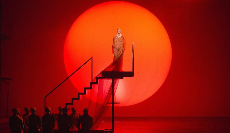 Akhnaten re-creates the grandeur and mystery of Ancient Egypt. Photo: Richard Hubert Smith