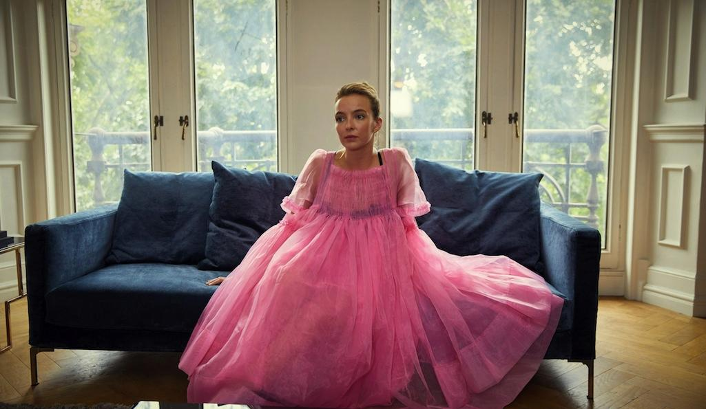 Jodie Comer as Villanelle in Phoebe Waller-Bridge's TV adaptation of Killing Eve