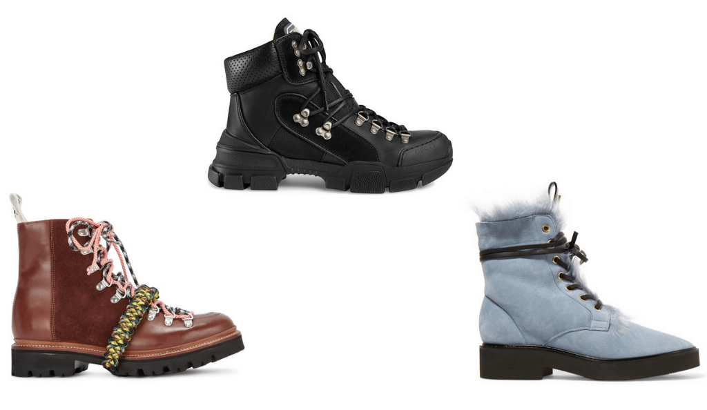 Hiking boot trend